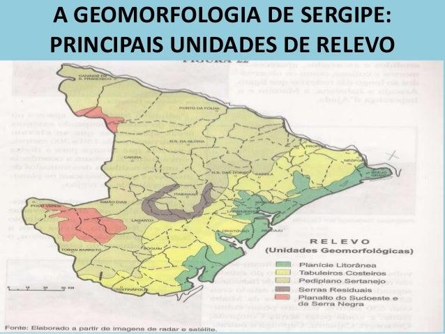 Resultado de imagem para mapa relevo de sergipe
