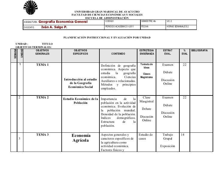 UNIVERSIDAD GRAN MARISCAL DE AYACUCHO                                                    FACULTAD DE CIENCIAS ECONÓMICAS Y...