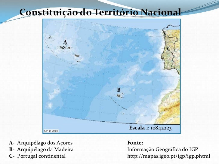 mapa de portugal continental e insular Atlas Digital 10º SE mapa de portugal continental e insular