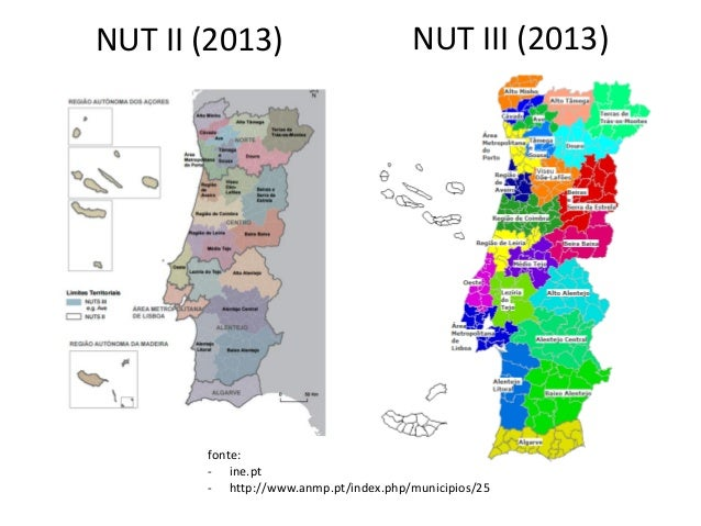 nuts iii mapa Geografia nut mapa nuts iii mapa