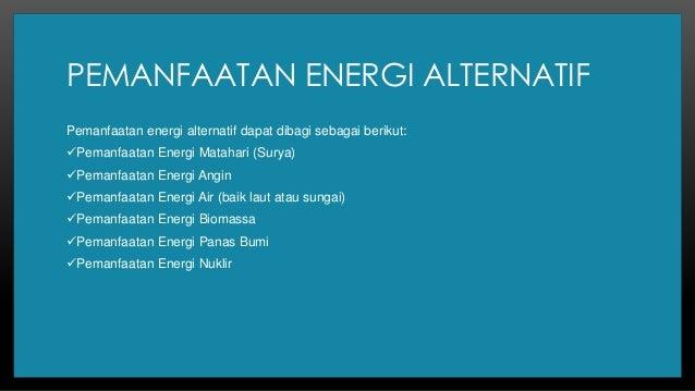 Bioenergi Sebagai Sumber Energi Alternatif Masa Depan Adha Panca