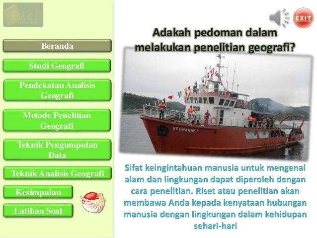 Download PPT Langkah Penelitian Geografi  Slide 2