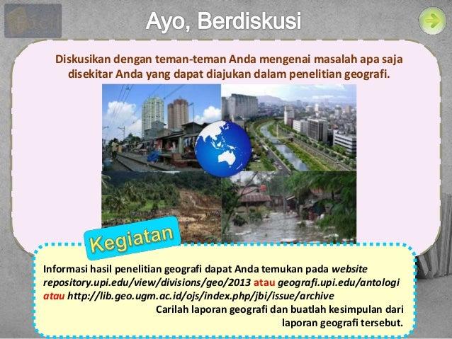 Download PPT Langkah Penelitian Geografi  Slide 3