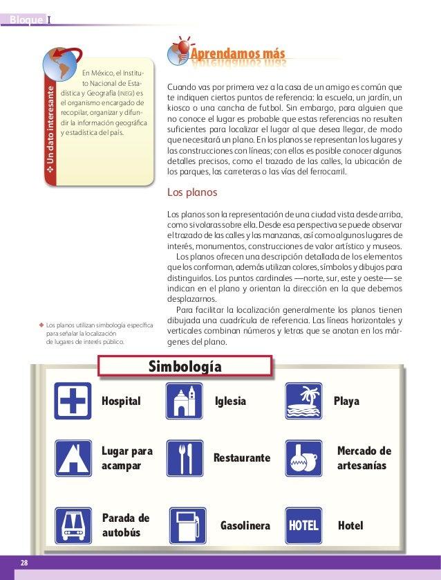 libro de texto Geografía 6to. grado 2014