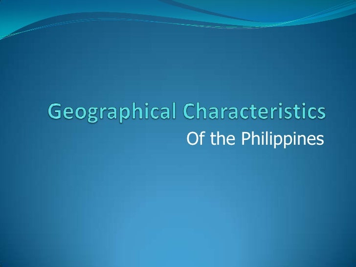 Of the Philippines