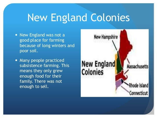 What Are The New England Colonies Natural Resources