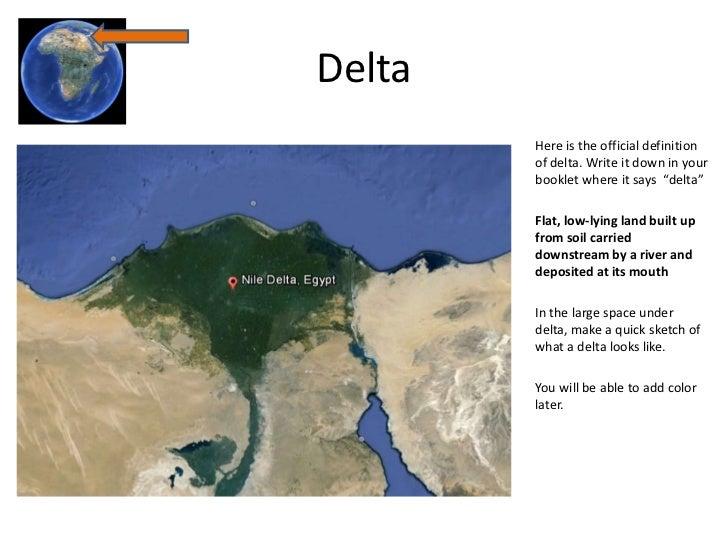 River Delta Definition For Kids