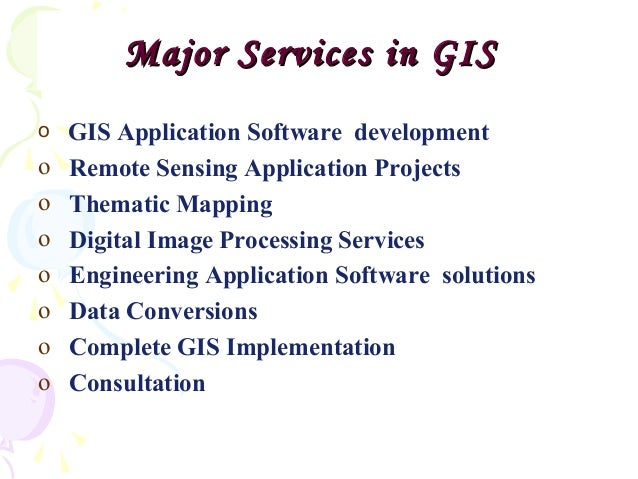 Geographic Information System Pdf