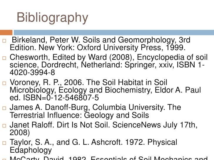 Soil for Soil encyclopedia