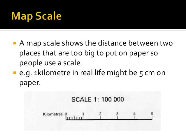 What Does A Map Scale Show Geography map skill (all you need to know) What Does A Map Scale Show