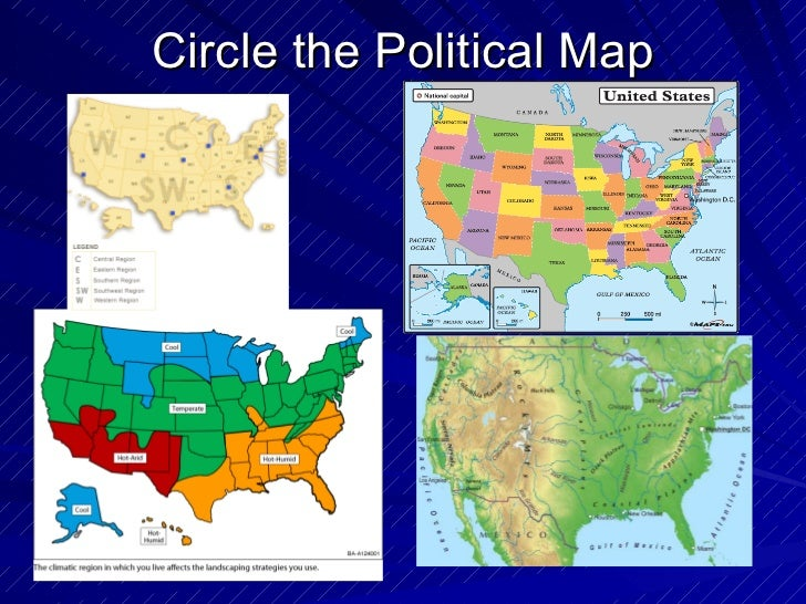 Political Map For Kids.Geography Different Kinds Of Maps