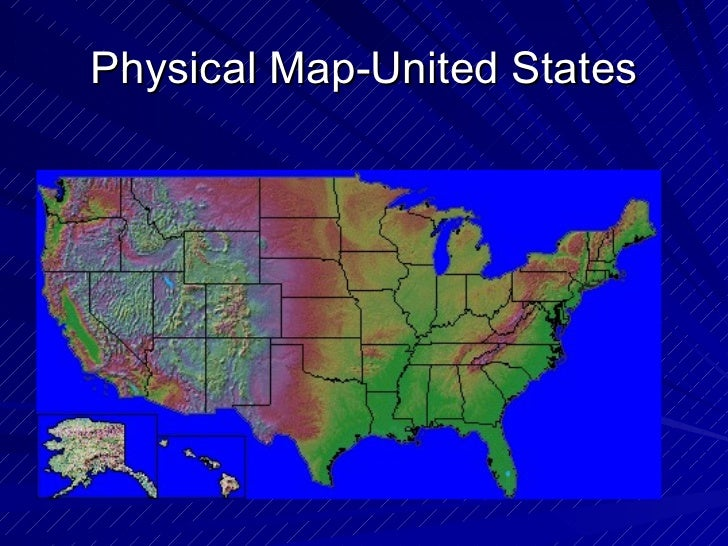 Geography Different Kinds Of Maps - Different us map