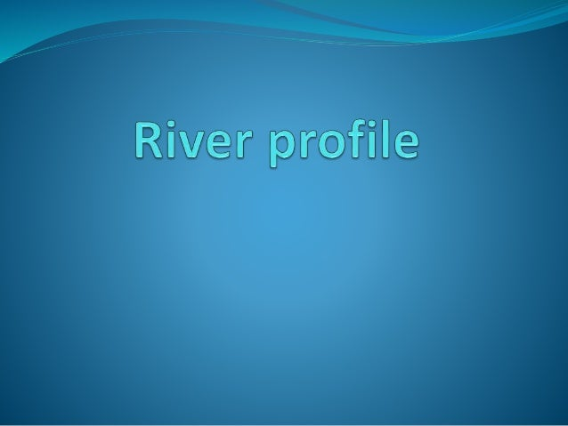 Longitudinal profile
