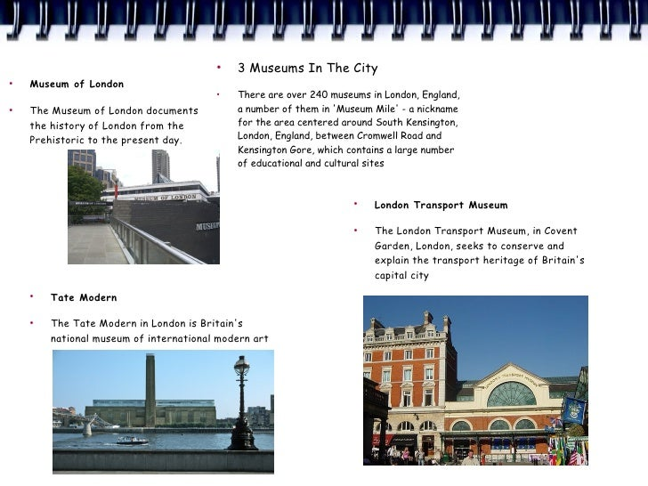 ●                                             3 Museums In The City ●     Museum of London                                ...