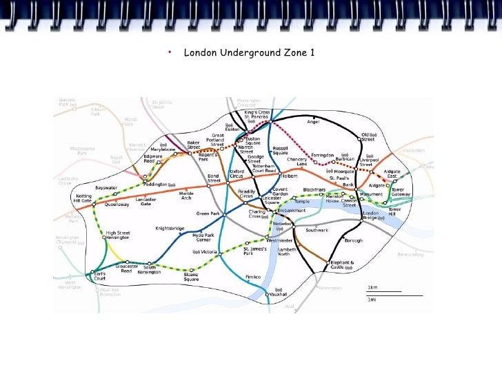 ●     London Underground Zone 1