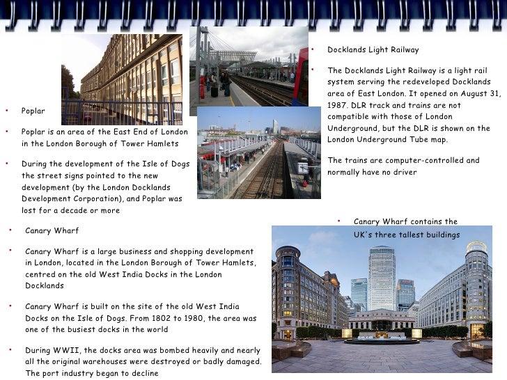 ●                                                                            Docklands Light Railway                      ...