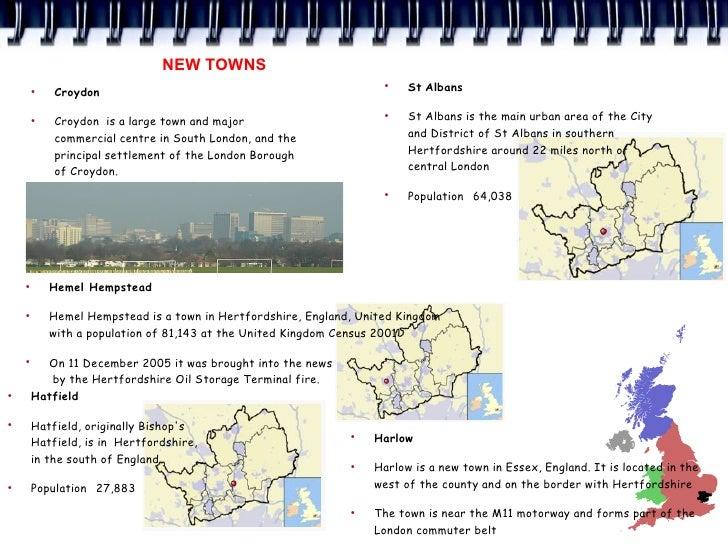 NEW TOWNS         ●             Croydon                                                                      ●            ...