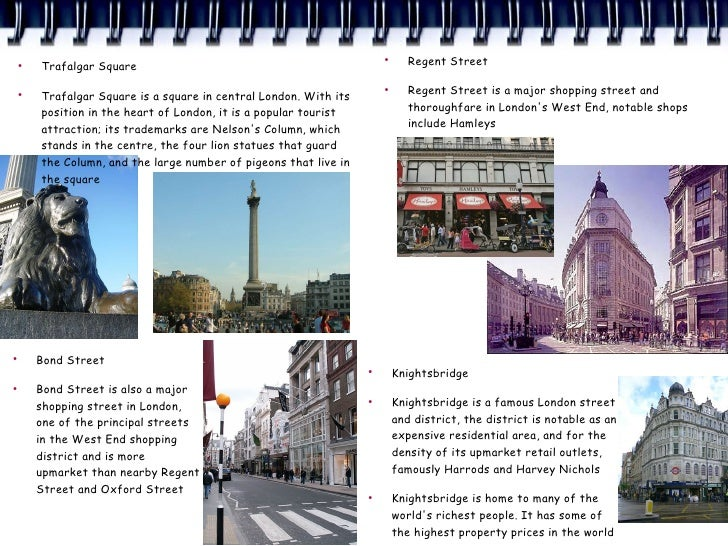 ●         Trafalgar Square                                                                        ●                       ...