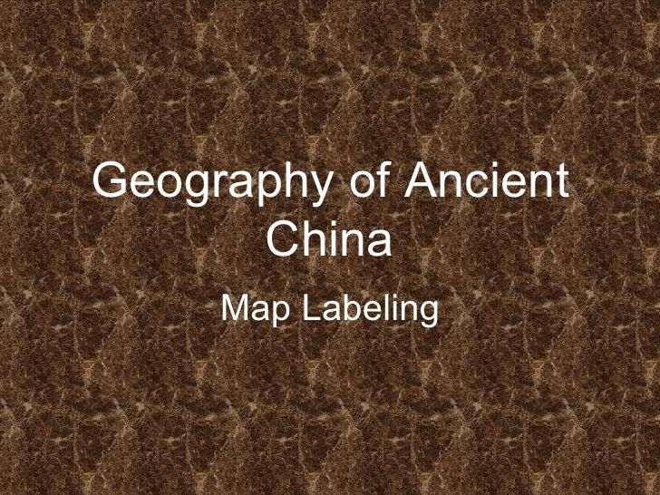 Names of China