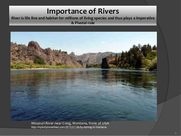 Importance Of River By Jabir - Importance of rivers