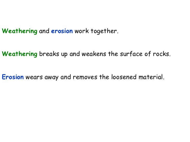 Key Stage 3 Geography: Coasts: Weathering and Erosion Slide 2