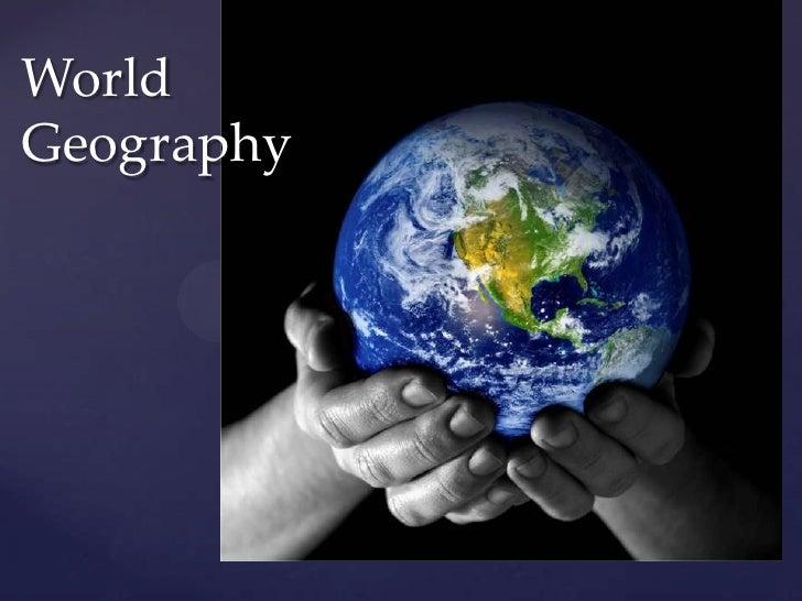 World Geography<br />