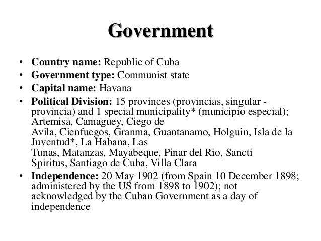 Geography (2)Cuban education system and overview