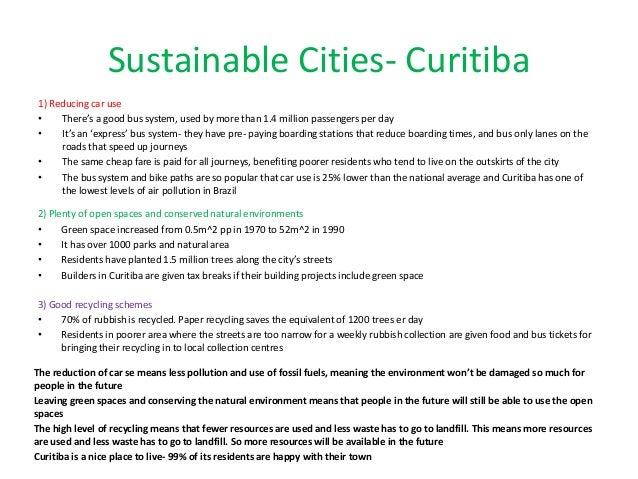 curitiba case study gcse geography
