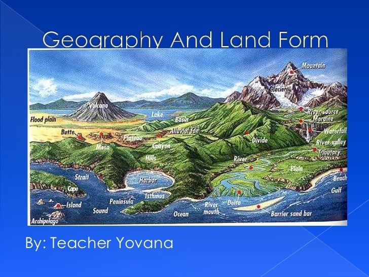 Geography and land form