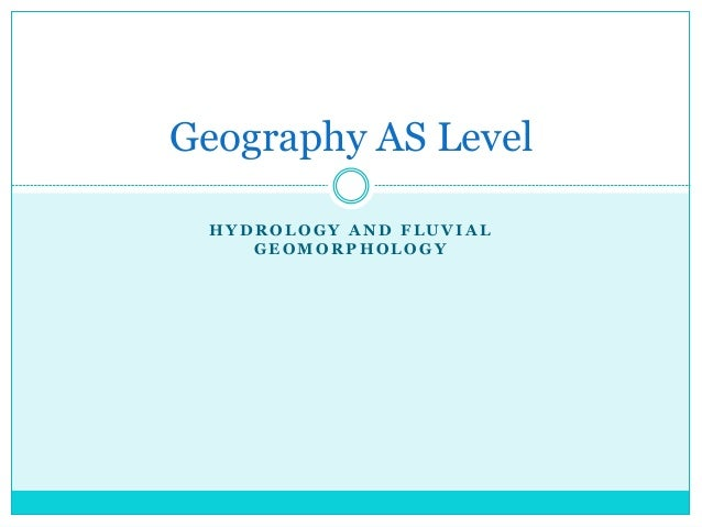 Geography AS Level full revision notes