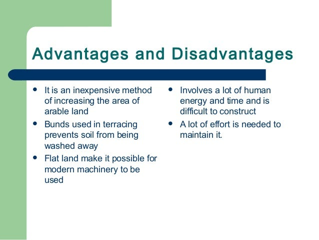 advantages and disadvantages of contract farming Advantages and disadvantages of short- and long-term contracts  advantages :  a shorter term contract will provide the.