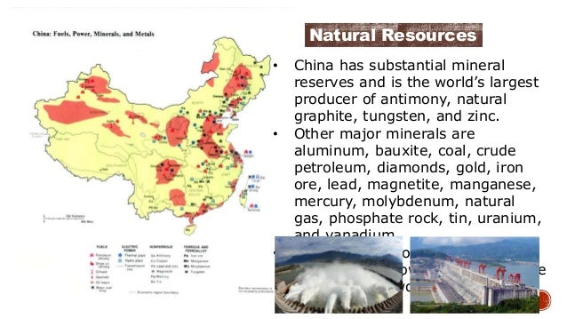 Will Natural Resources Meet China S Needs