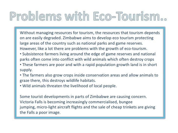 geography eco tourism Green is the new black for holidays, with ever more people seeking an experience that's good for the mind and soul – and good for the planet, too.