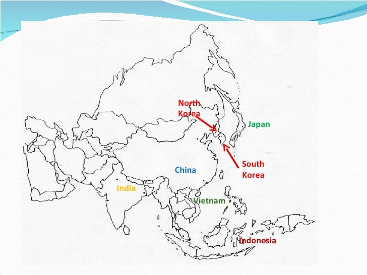Geography of asia china japan south korea indonesia india vietnam north korea gumiabroncs Choice Image