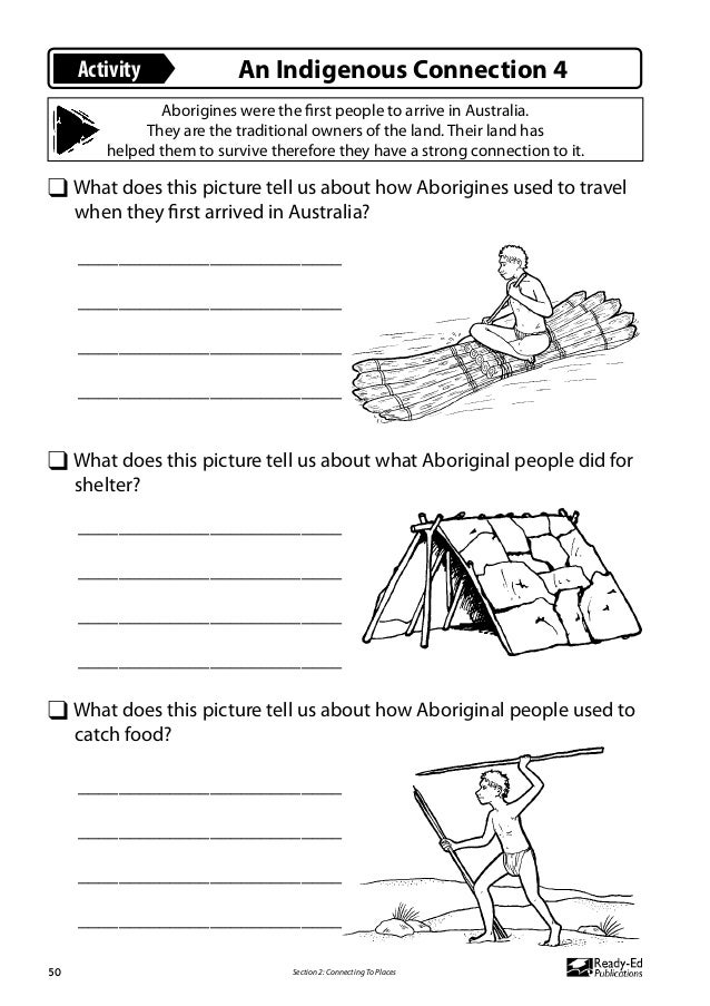 Aboriginal Shelters Worksheets Myrtleford Aboriginal Shelter