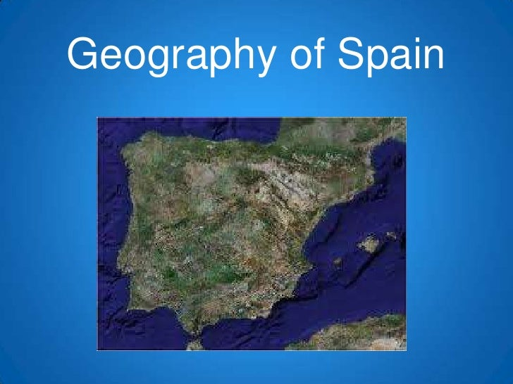 Geography of Spain<br />