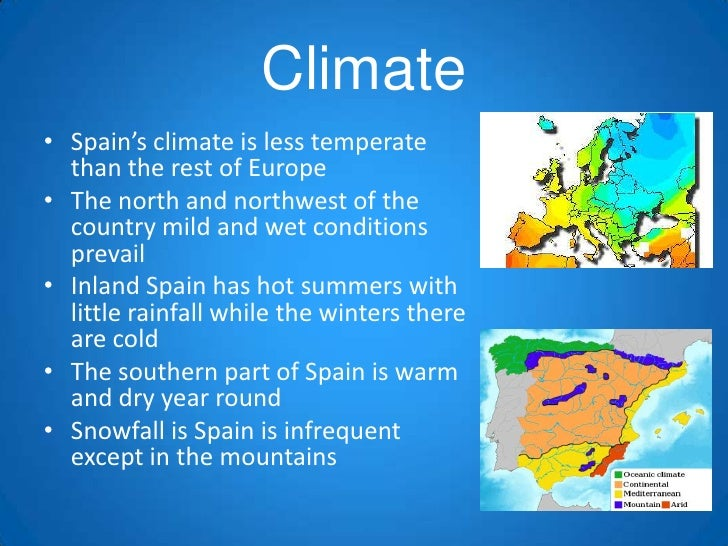 Geography spain