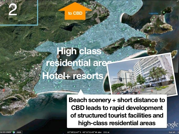 3Slum                                  Airport   Mid-levelresidential area                          Many middle income    ...