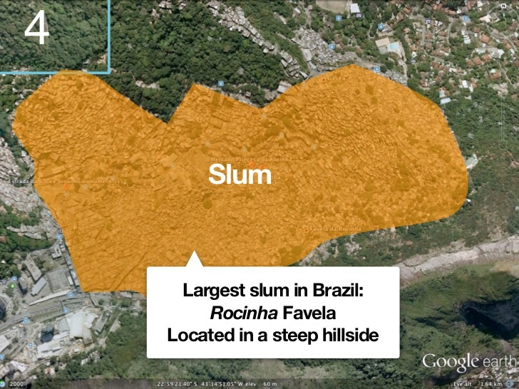 Kinds of slums in RioA highly consolidated invasion      of public or private environmentally safe land by       very poor...