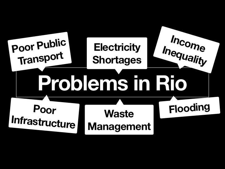Poor Public Transport                            440                          Bus lines in Rio de Janeiro    Metrô Rio160k...
