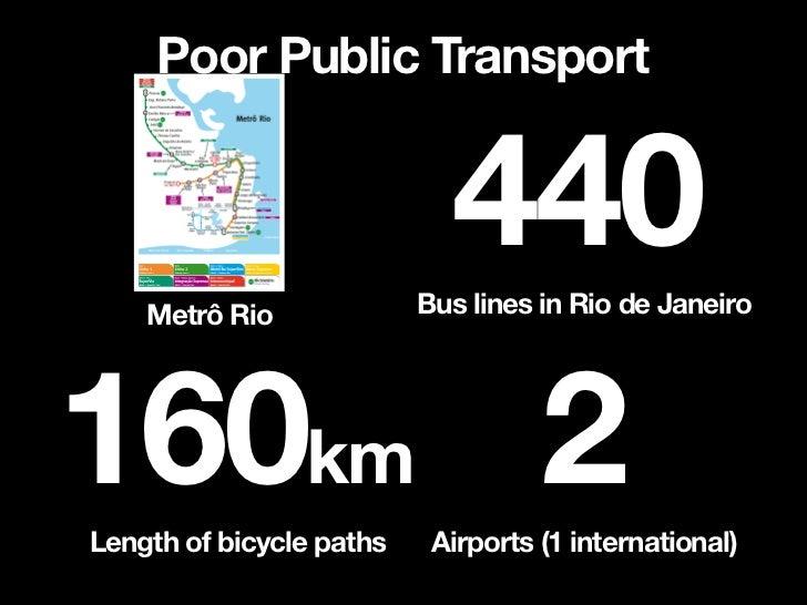 Poor Public Transport            Mexico CityHong Kong   451km211km           Sao Paulo               73km    Only 41 km   ...