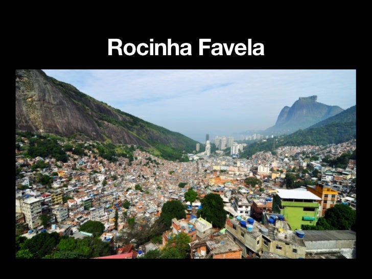 Rocinha Favela Self-helpThe authoritiessupplied materials toresidents to build theirown permanentaccommodation inRocinha (...