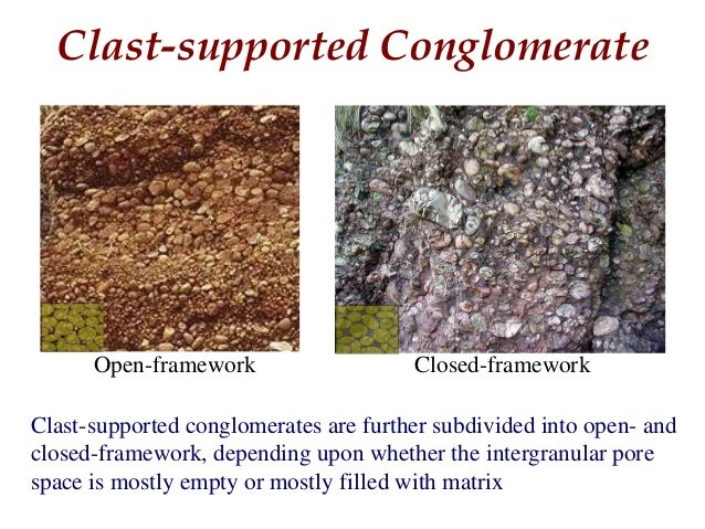 Classification of Conglomerate Slide 3
