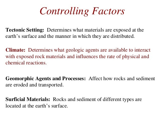 what is mean by geomorphology