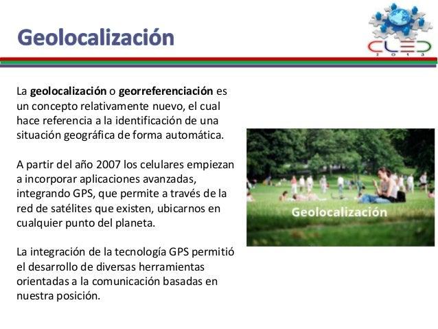 Geolocalización móvil Slide 2