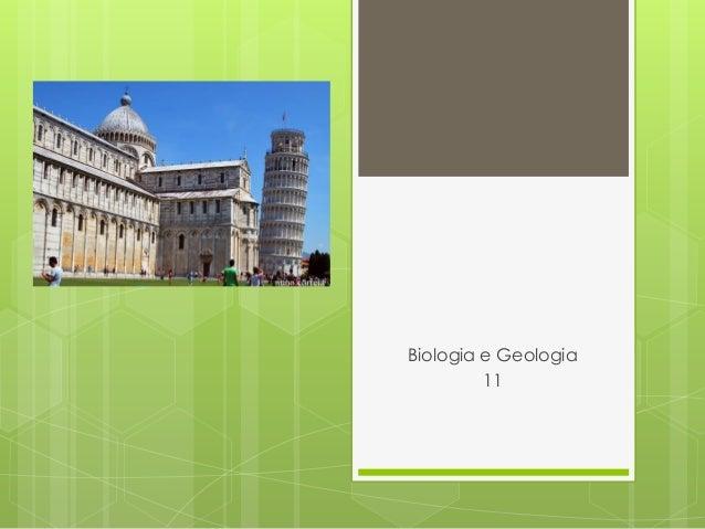 Biologia e Geologia         11