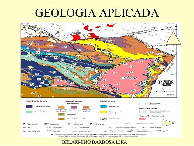 GEOLOGIA APLICADA   BELARMINO BARBOSA LIRA