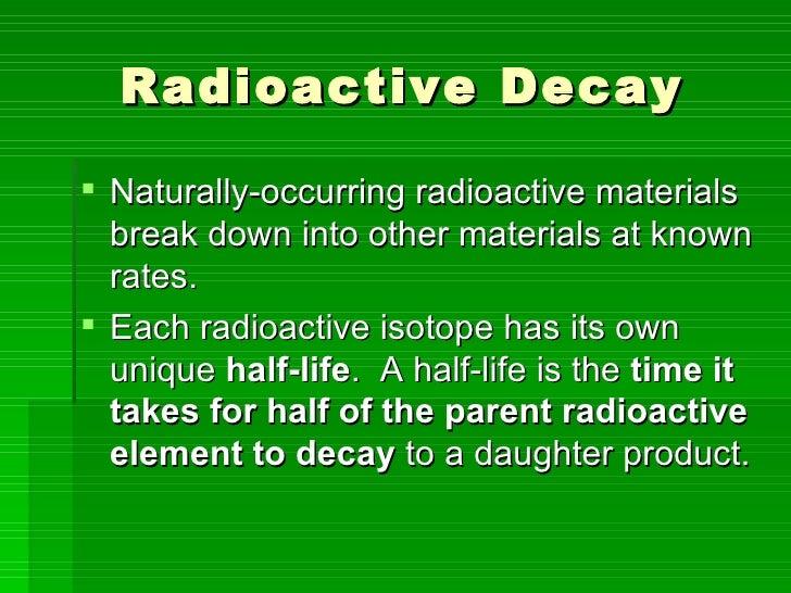 Geologists use radioactive dating too soon 7