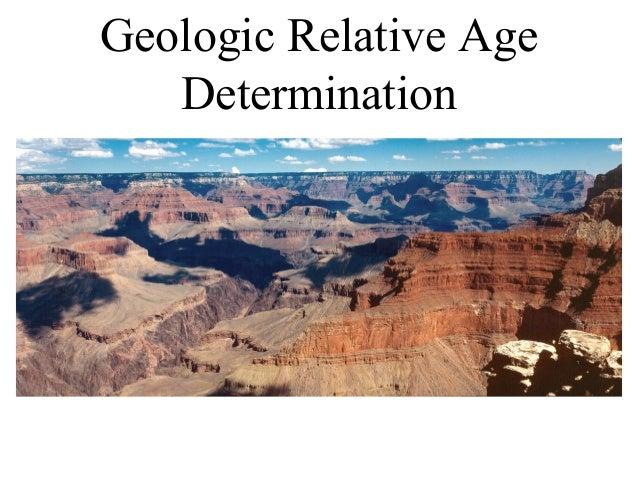 Geologic Relative Age Determination