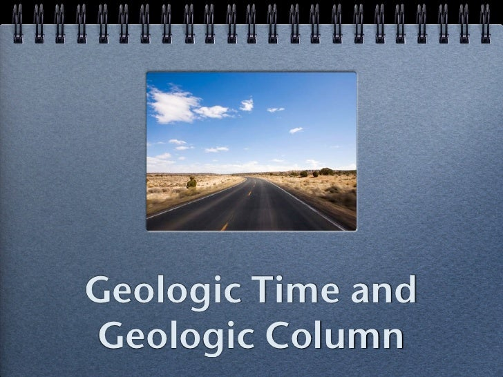 Geologic Time and Geologic Column